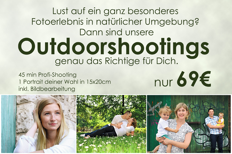 Mai Fotoshooting Outdoor